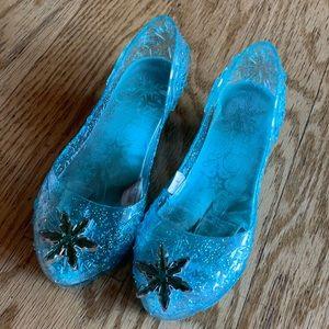 Disney Princess Elsa Frozen Light up jelly shoes